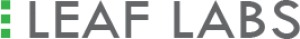Logo for leaflabs premium brand