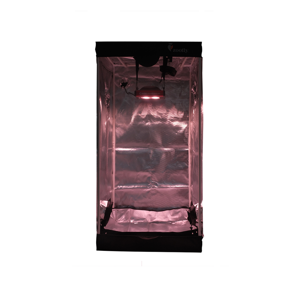 Grow Tent Combo - California Lightworks SolarXtreme 250, Zootly Tent 0,8m x 0,8m x 1,6m